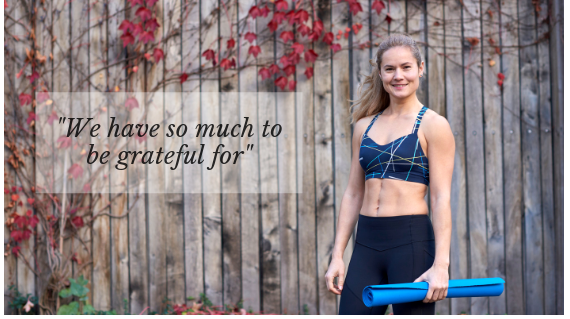 We have so much to be grateful for.
